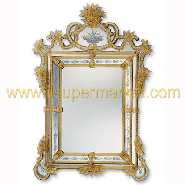 Murano mirrors for Miroir 130 x 80