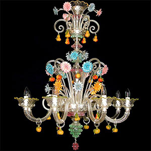 Makers of fine murano glass chandeliers handmade in venice incredible handcrafted venetian chandeliers perfect reproductions of the chandeliers of the most beautiful palaces in venice chandeliers that adorned the aloadofball Gallery